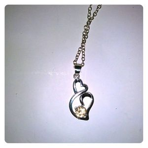 Jewelry - 🎁Perfect Citrine Heart Necklace